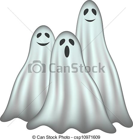 Haunted clipart friendly ghost Ghosts face in csp10971609 ghosts