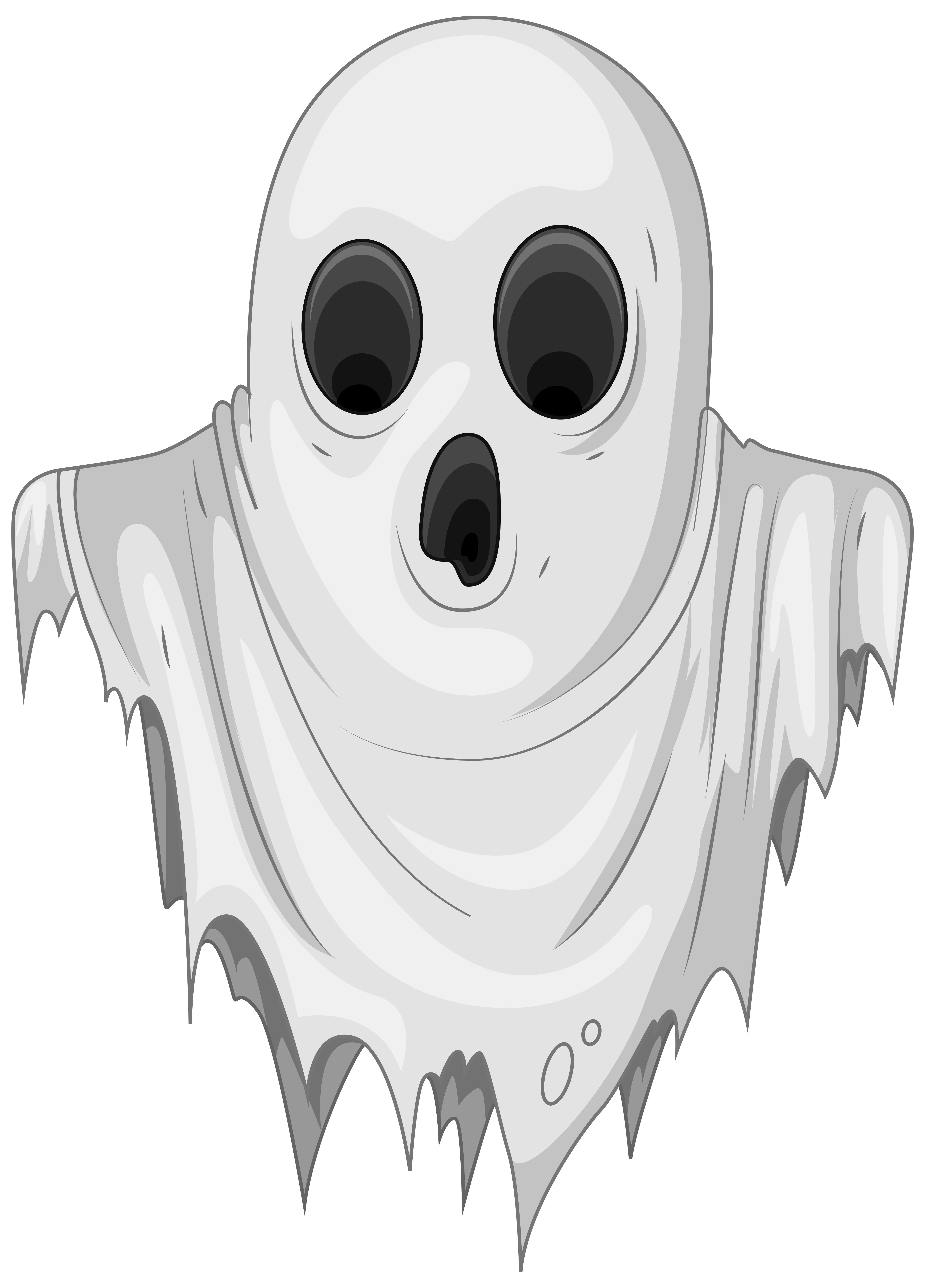 Ghostly clipart haunted PNG full Haunted Ghost size