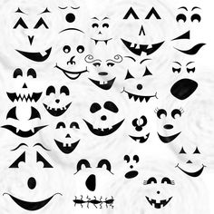 Haunted clipart ghost face Canvas via Craft Faces