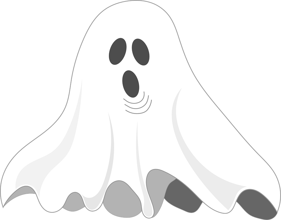 Haunted clipart ghost face Pixel photo Face Halloween Spooky