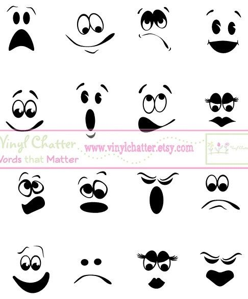 Haunted clipart ghost face Face Decal via Best Ghost