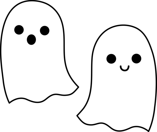 Haunted clipart ghost outline For  http://sweetclipart ClipartHalloween Google