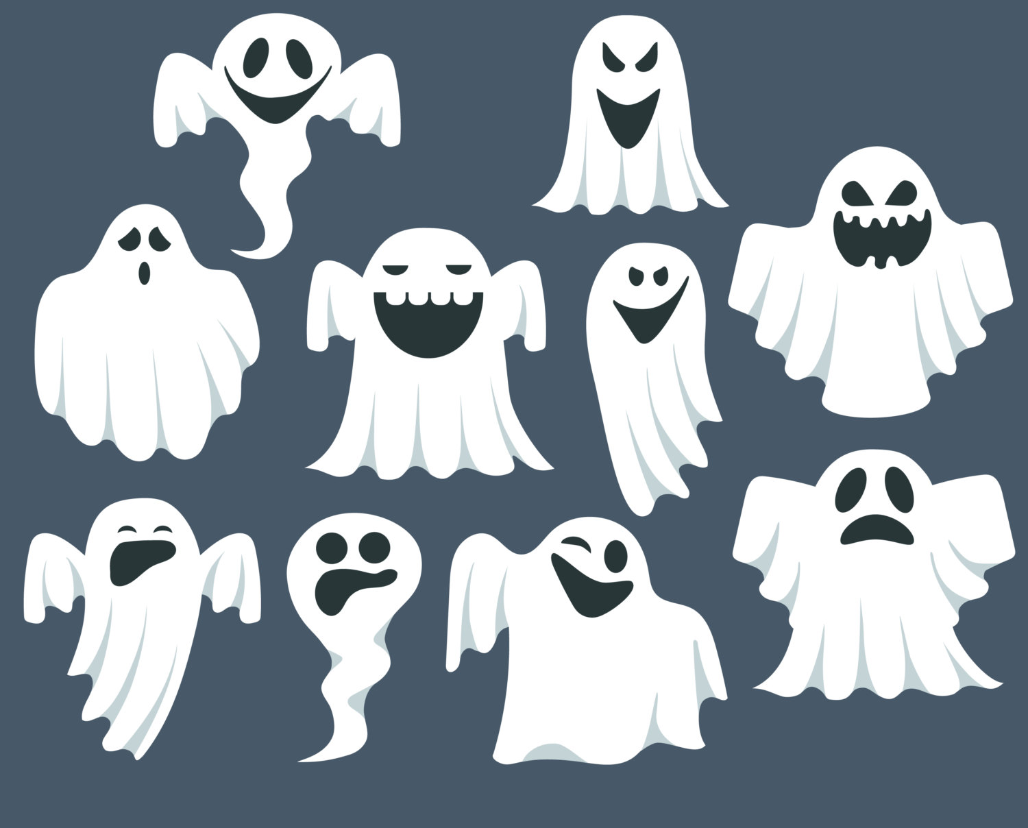 Haunted clipart halloween scene Clip Ghostbusters Art Cliparts Ghost