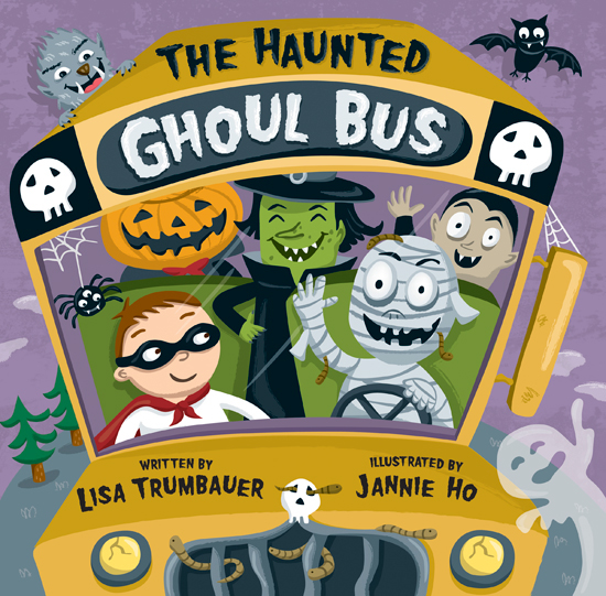 Haunted clipart ghoul The Behance  on Bus