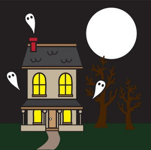 Haunted clipart gost M in Haunted LAW Selling