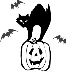 Haunted clipart halloween cat Free Haunted this Viewed Most