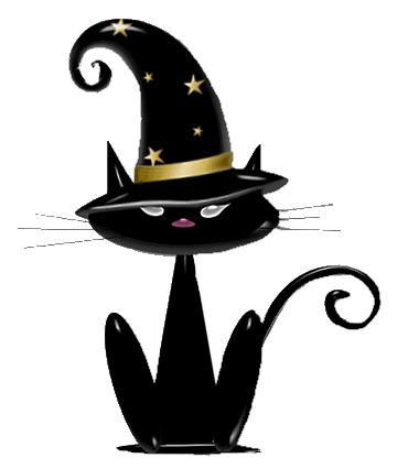 Haunted clipart halloween cat On Pinterest best Halloween about