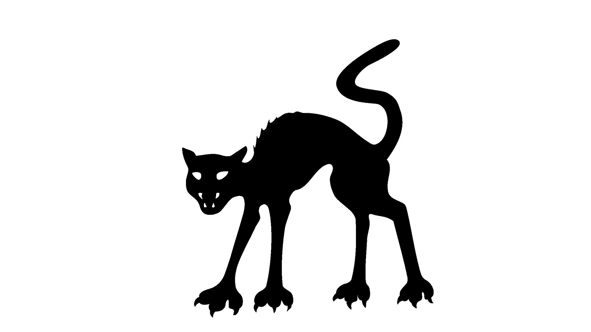 Haunted clipart halloween cat : YouTube Cats Superstitions