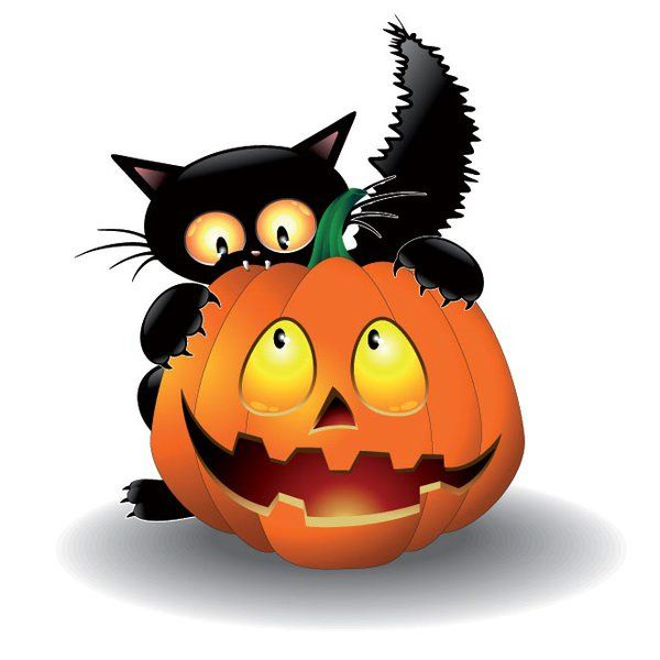 Haunted clipart halloween cat Pinterest  best printable about