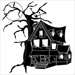 Haunted clipart halloween character Halloween Spooky Character Halloween Clipart