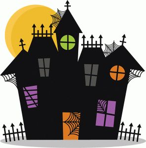 Haunted clipart halloween character #64996: Fences Design Cards best