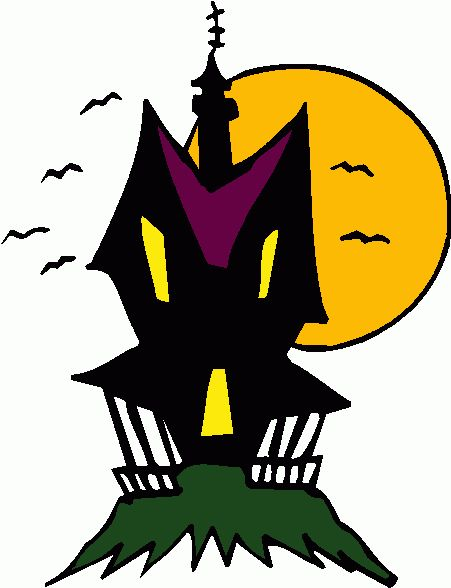 Haunted clipart halloween character House & haunted Pinterest best