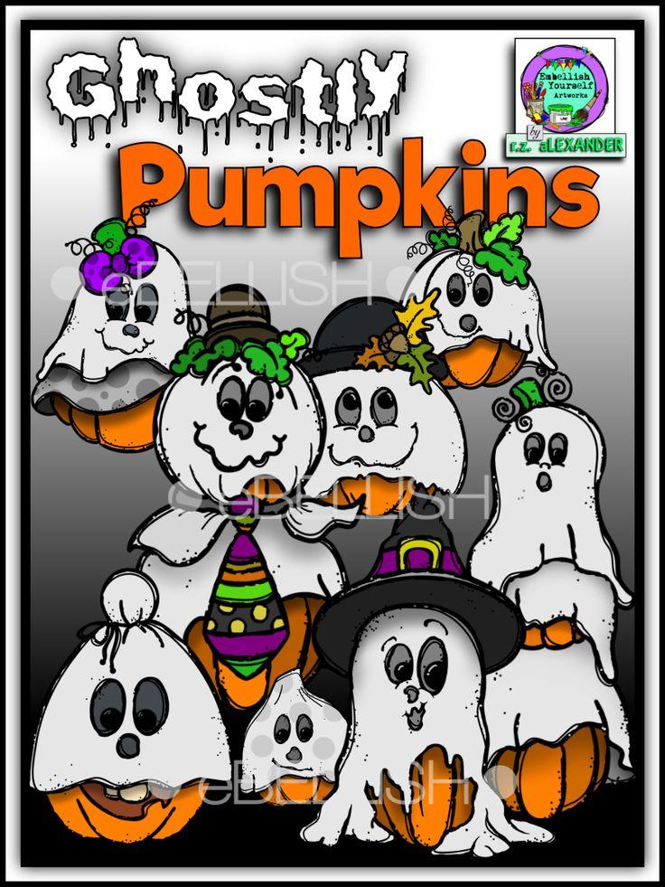 Haunted clipart halloween character Clipart Pinterest Pumpkins My about