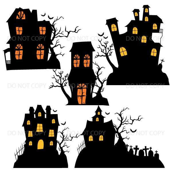 Haunted clipart halloween character Halloween  Halloween Houses Haunted