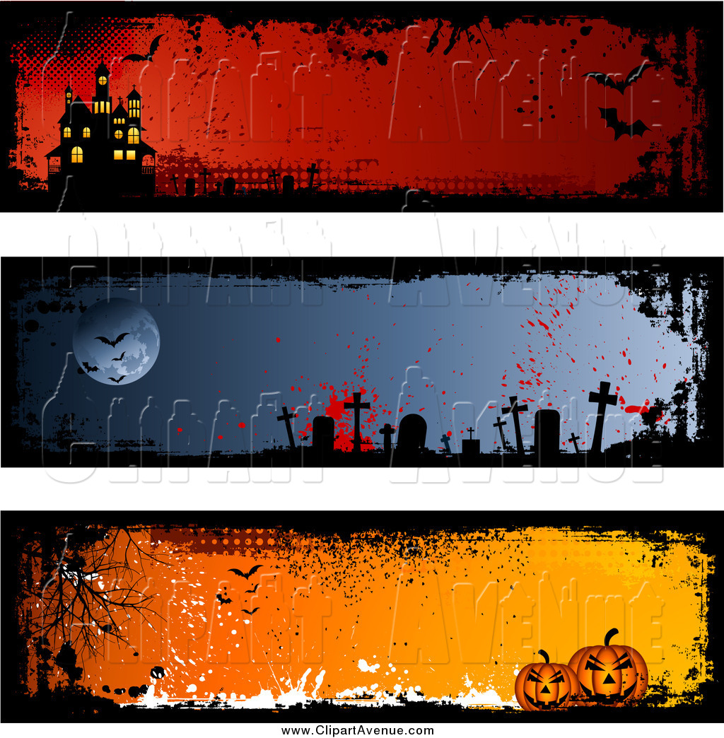 House clipart banner Clipart Haunted of House Haunted