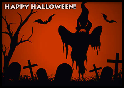 Haunted clipart halloween scene Bats and with Gifs Halloween