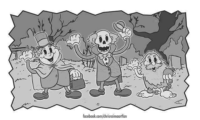 Haunted clipart happy ghost Ghosts com chrisraimoart Hitchhiking Mansion: