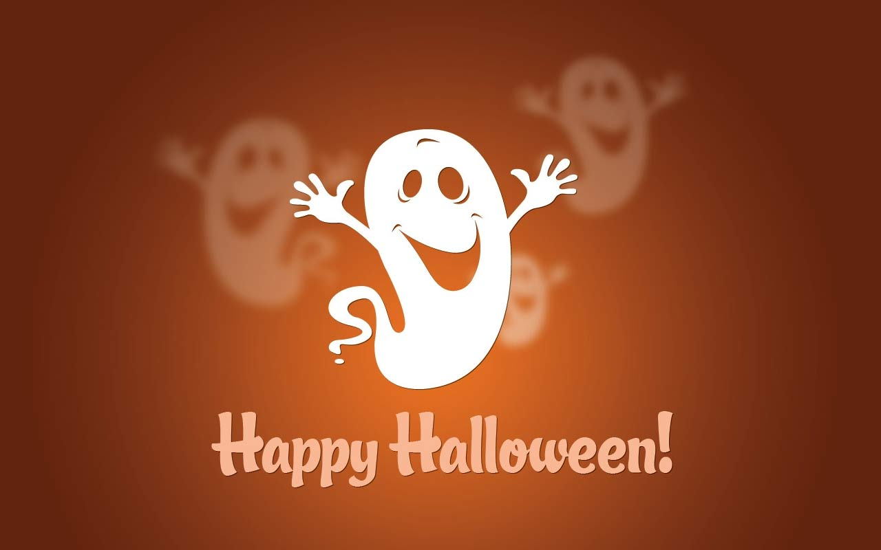 Haunted clipart happy ghost Backgrounds with Free ghosts Halloween