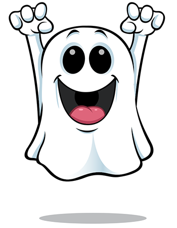 Haunted clipart happy ghost Ghost Smileys Happy Ghost Happy