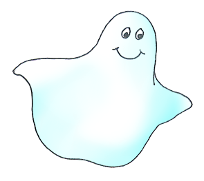 Haunted clipart happy ghost Halloween Clipart Happy ghost Happy