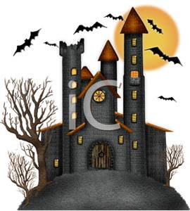 Haunted clipart haunted castle Royalty Picture Castle Haunted Free