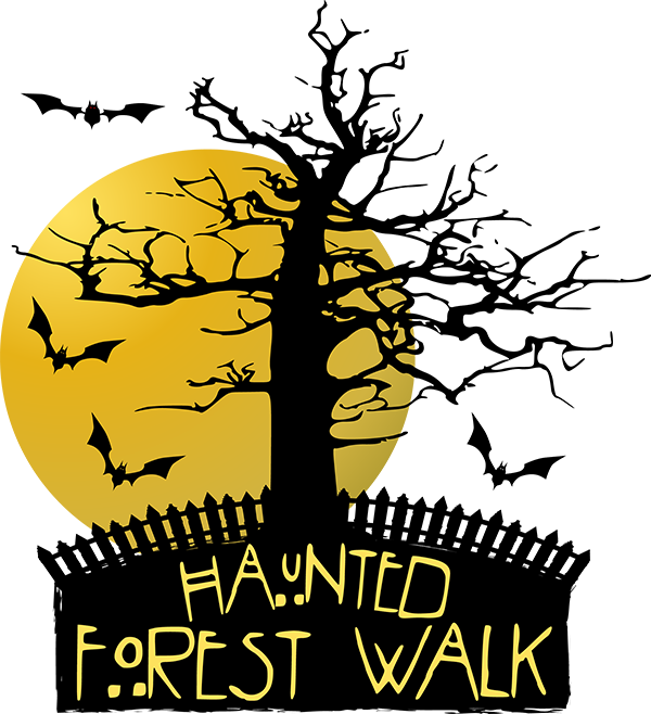 Haunted clipart haunted forest #11