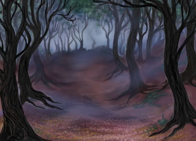 Dark Wood clipart spooky forest Manga Pinterest forest on images