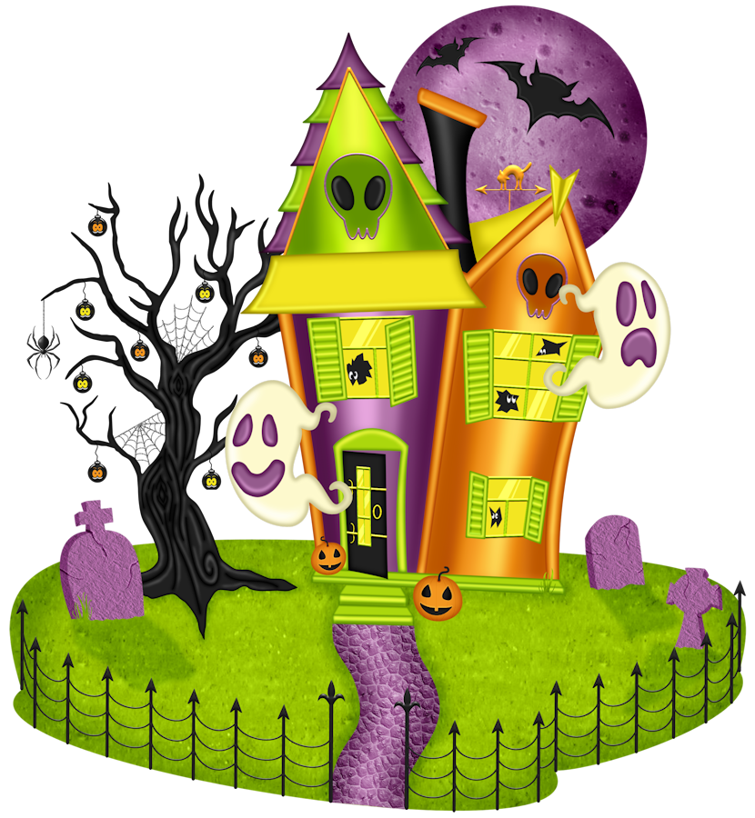 Haunted clipart haunted hayride Cottage 008 HAZEL'S  house