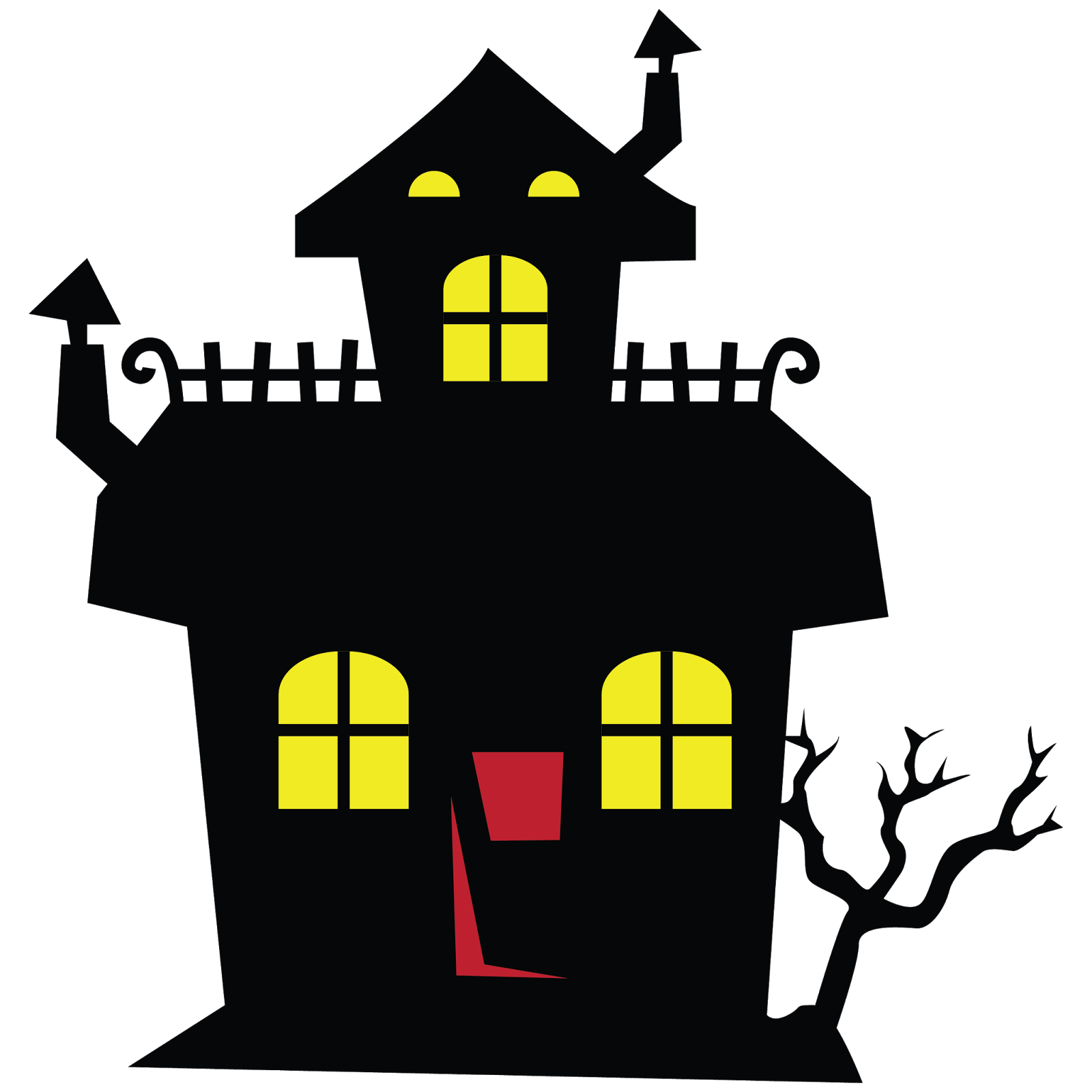 Haunted clipart haunted hayride ClipartBarn clipart haunted clipartfest house