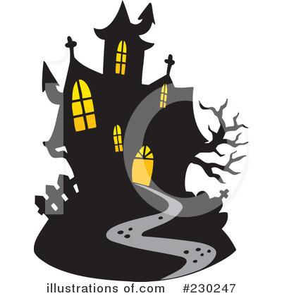 Haunted clipart haunted mansion Visekart Illustration Royalty (RF) Clipart