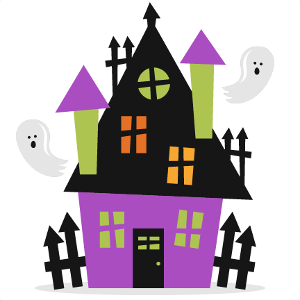 Haunted clipart haunted mansion Clear house Clipart House Haunted