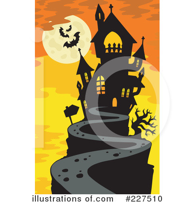 Haunted clipart hause Royalty Illustration by #227510 Illustration