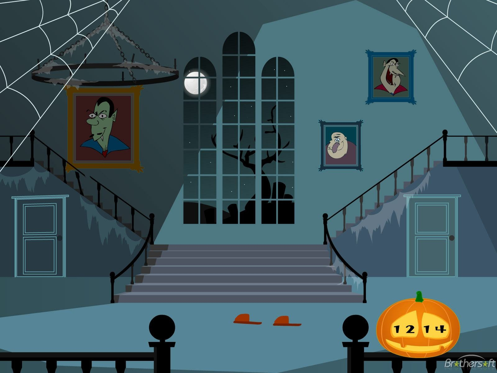 Haunted clipart inside haunted house House category Inside resolution Haunted