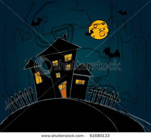 Haunted clipart inside haunted house Lights Image: a a on