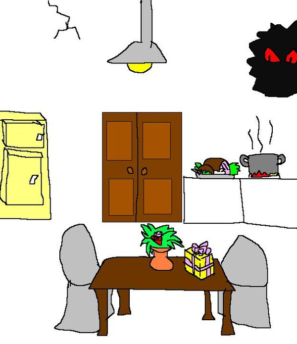 Haunted clipart kitchen Haunted on kitchen by by