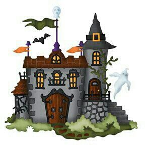 Haunted clipart paranormal Images Halloween Pinterest Fences Trees