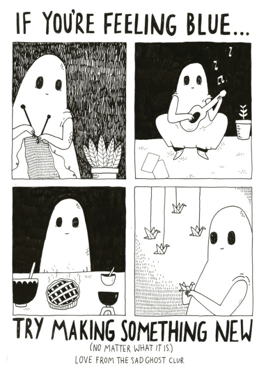 Haunted clipart sad ghost When things ghost sad to