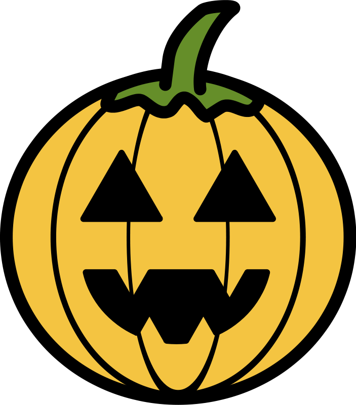 Creepy clipart jack o lantern Clip Halloween Download to Haunted