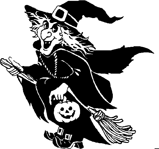 Shadows clipart witch Clipart halloween White Clip Art
