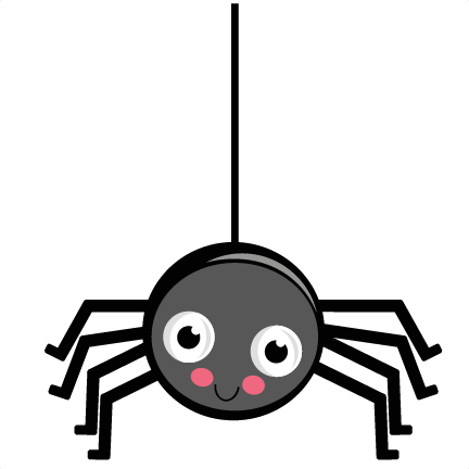 Haunted clipart spider hanging Large_cute News head? spider Doubtful