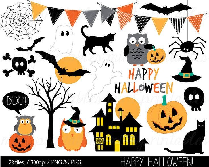 Ghostly clipart costume contest Bat Halloween clipart Personal Witch