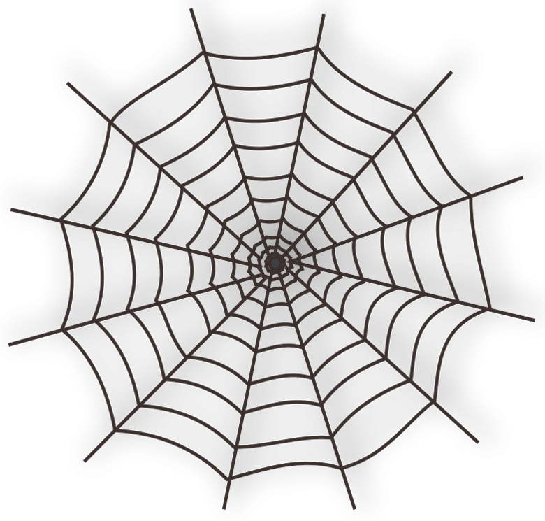 Haunted clipart spider web Haunted Spider Web Halloween Tags: