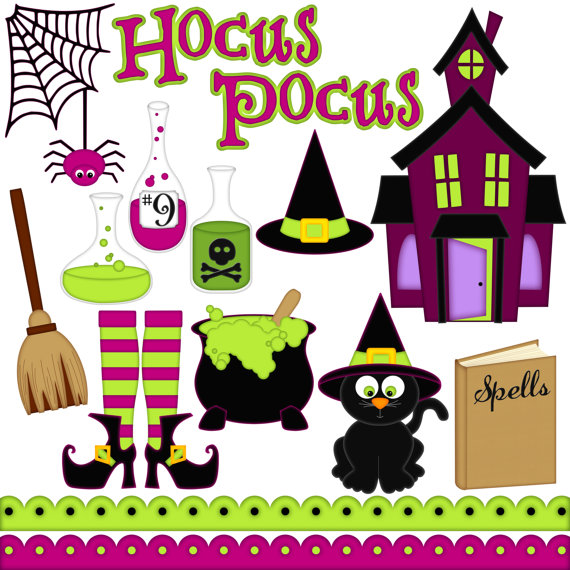 Haunted clipart spider web Haunted Potions AScrapOfTime Haunted Studio