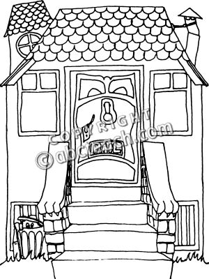 Haunted clipart staircase With Stairs And clipartsgram With