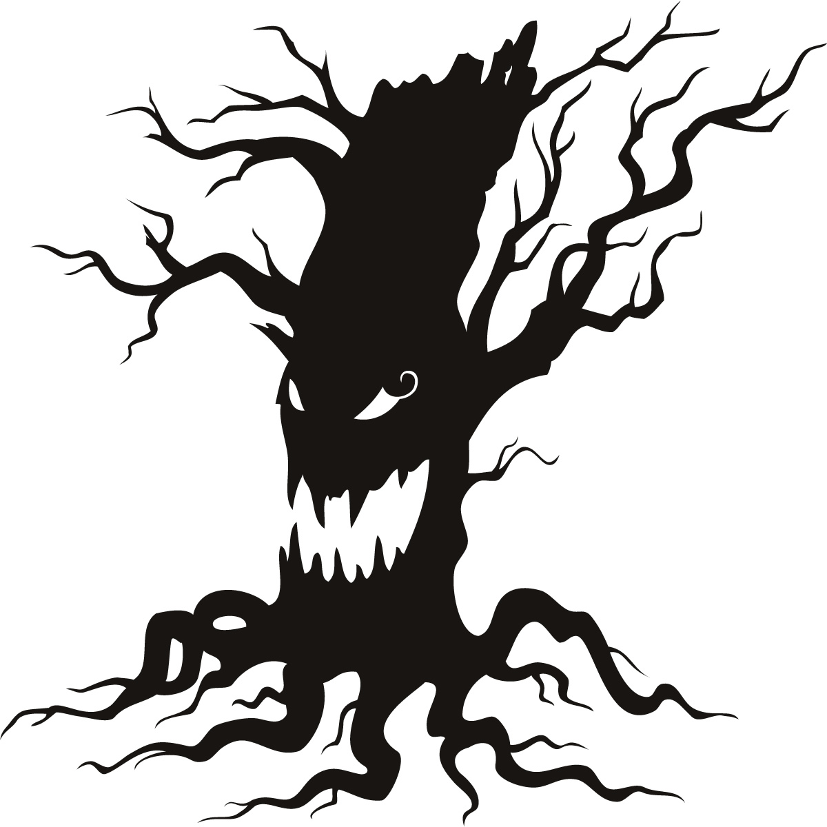 Spooky clipart mortality Cliparts tree Tree Haunted Cliparts
