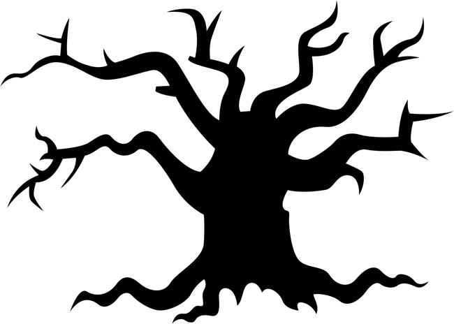 Haunted clipart tree Typat Tree Clipart com Pie