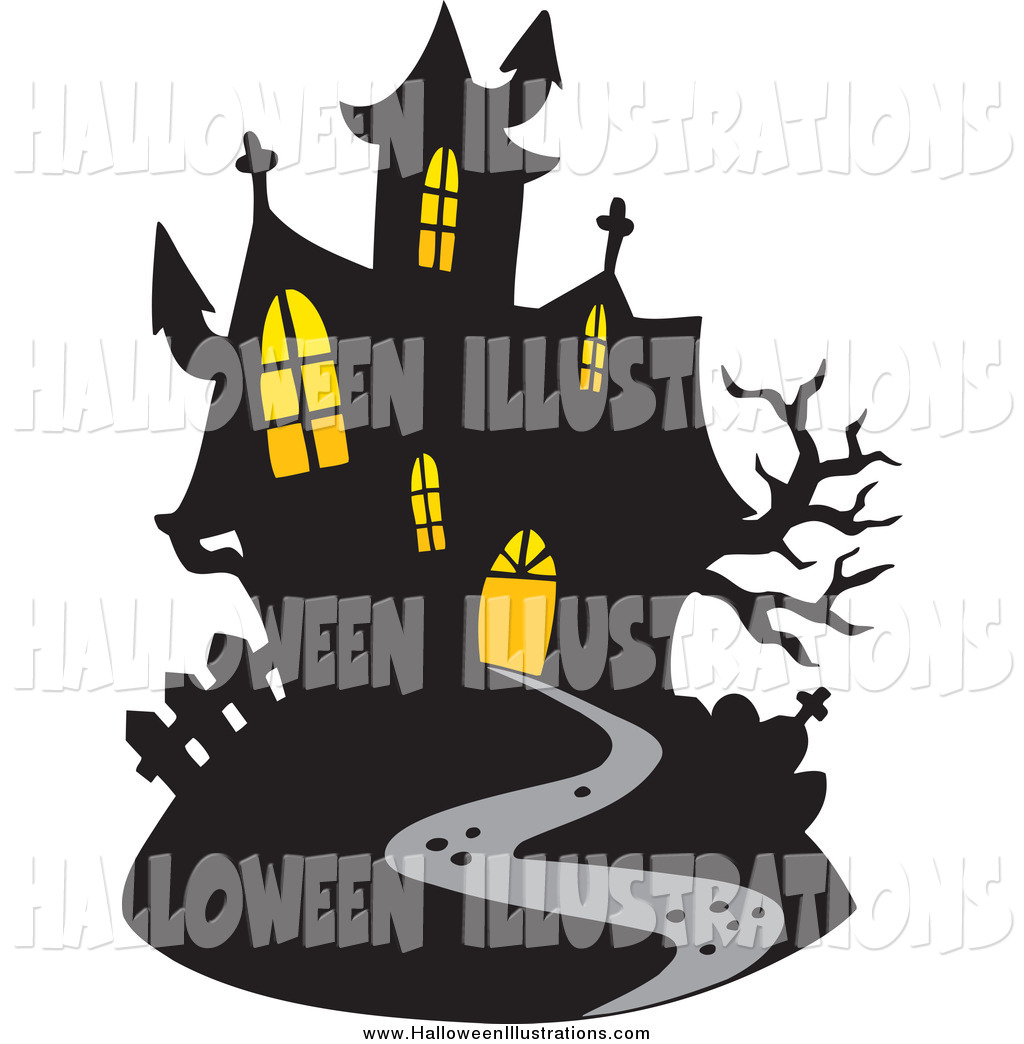 Haunted clipart windows #1
