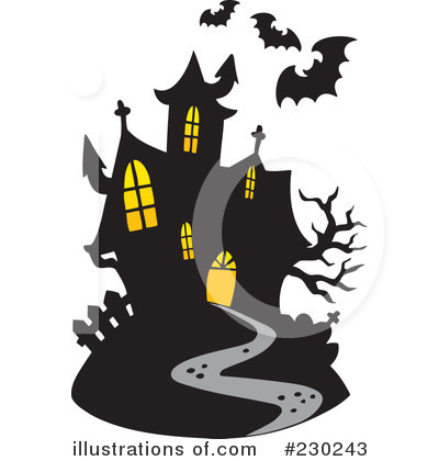 Haunted House clipart Haunted Free by #230243 by