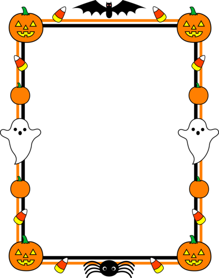 Witch clipart border Use Art Frame border in