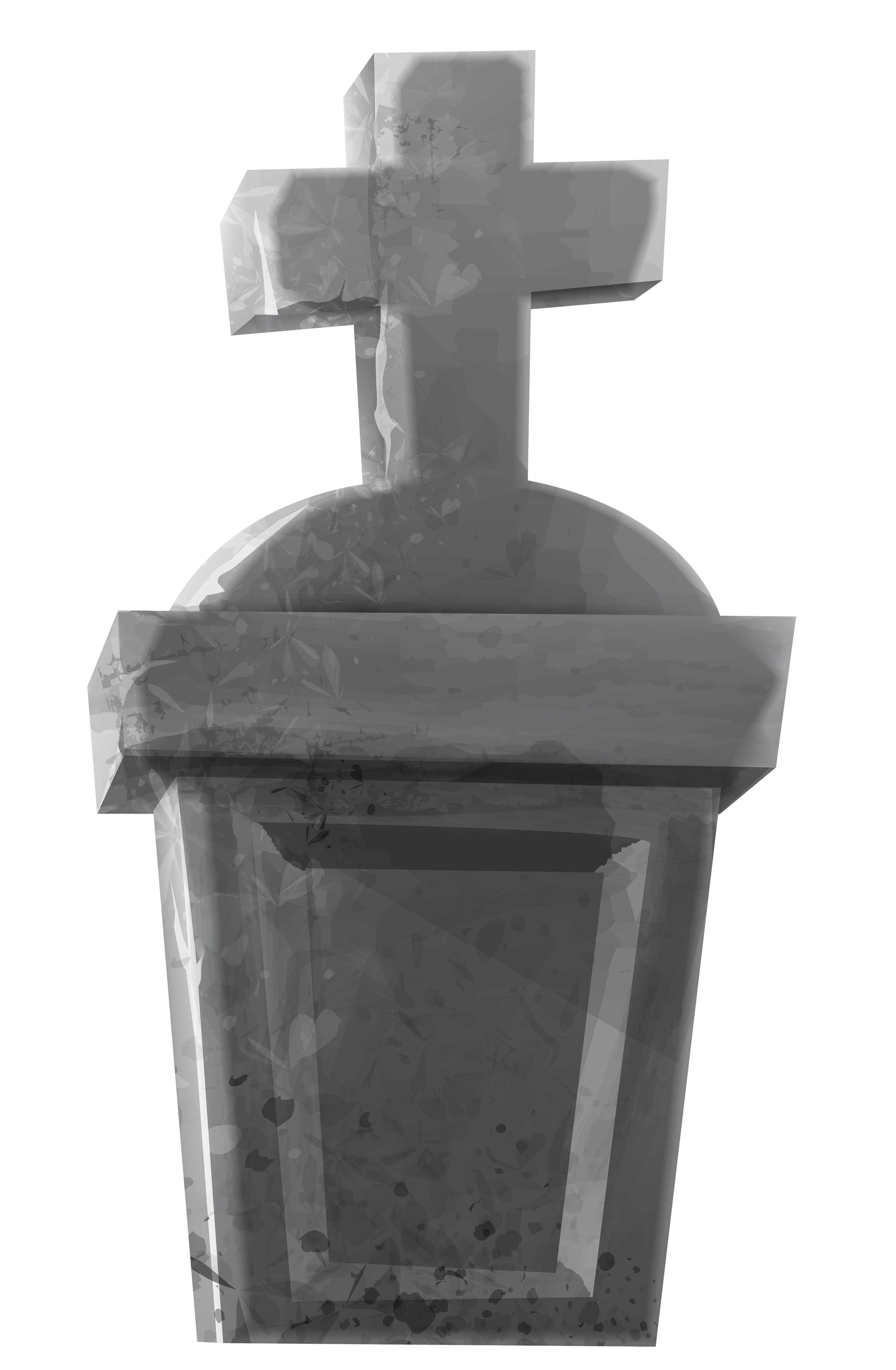 Tombstone clipart transparent Full View PNG size Yopriceville
